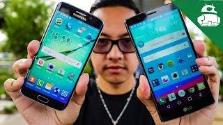 LG G4 vs Samsung Galaxy S6 / S6 edge!
