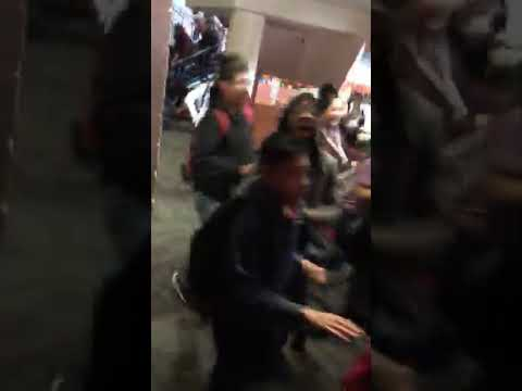 Isaac middle school 3 fights in one day every body on a train