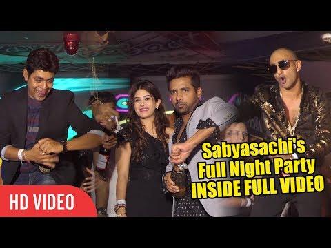 Sabyasachi Birthday Full Night Party  INSIDE VIDEO  Bigg Boss 11 Party  Akash, Puneesh, Bandgi