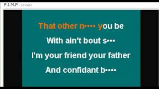 50 Cent - PIMP Karaoke