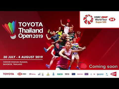 Court 3 - TOYOTA Thailand Open 2019 - Day 2