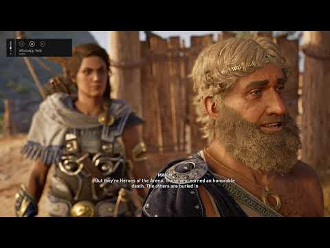 Assassin S Creed Odyssey Journey To The Arena Of Pephka Part