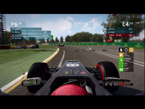 F1 2013 | Safety Car Incident