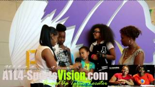 FEG Interview with models of Cynthia Bailey Kids Modeling Agency