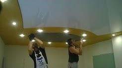 Проект за окачен таван в  хол