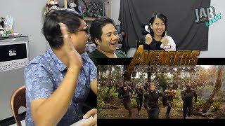 JAB React : (EP.12) Marvel Studios' Avengers: Infinity War Official Trailer