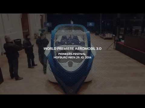 Behind the scenes / AeroMobil 3.0 - World Premiere Vienna 2014