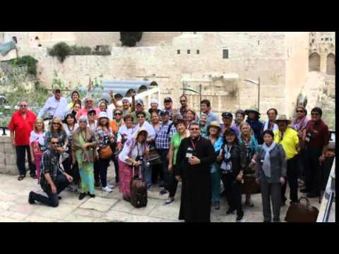 www.GoodshepherdTravel.com and Holy Redeemer Holy Land Pilgrimage April 02-11 2014