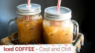 American Iced coffee - Very Refreshing And Very Light. Coffee Recipe