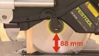 Festool Kapex Sliding Compound Miter Saw Presented By Woodcraft