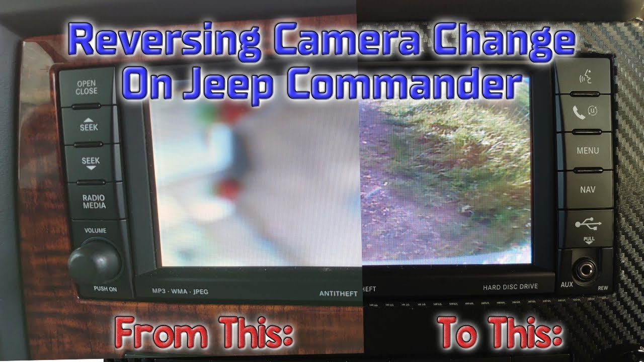 Changing or Updating a Reversing Camera on a Jeep Commander