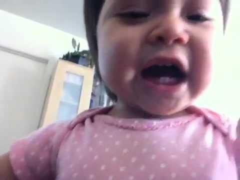 Evil baby laugh