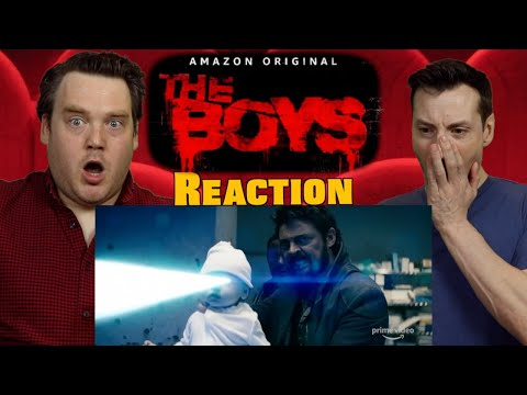 The Boys - Official Trailer Reaction / Review / Rating