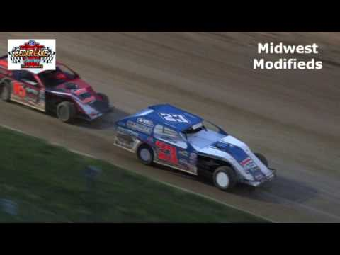 7-16-2016 Midwest Modifieds Cedar Lake Speedway