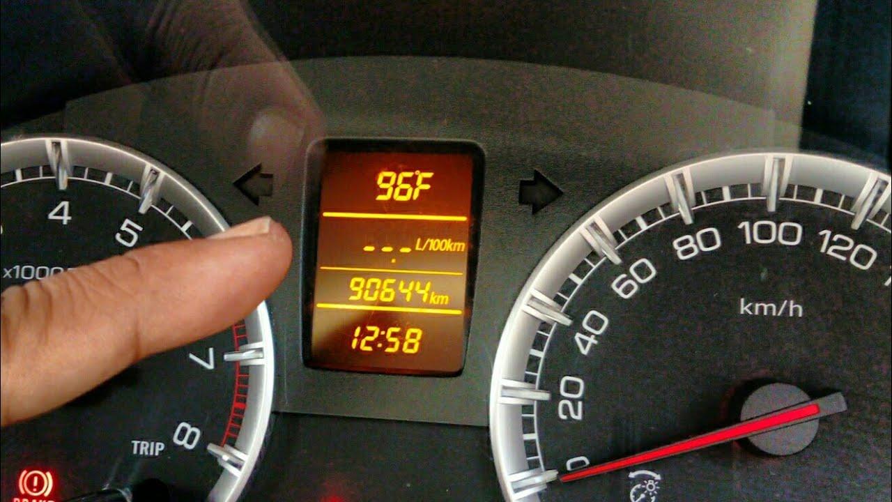 Erci Mengganti Satuan Unit Speedometer Suzuki Ertiga Changing