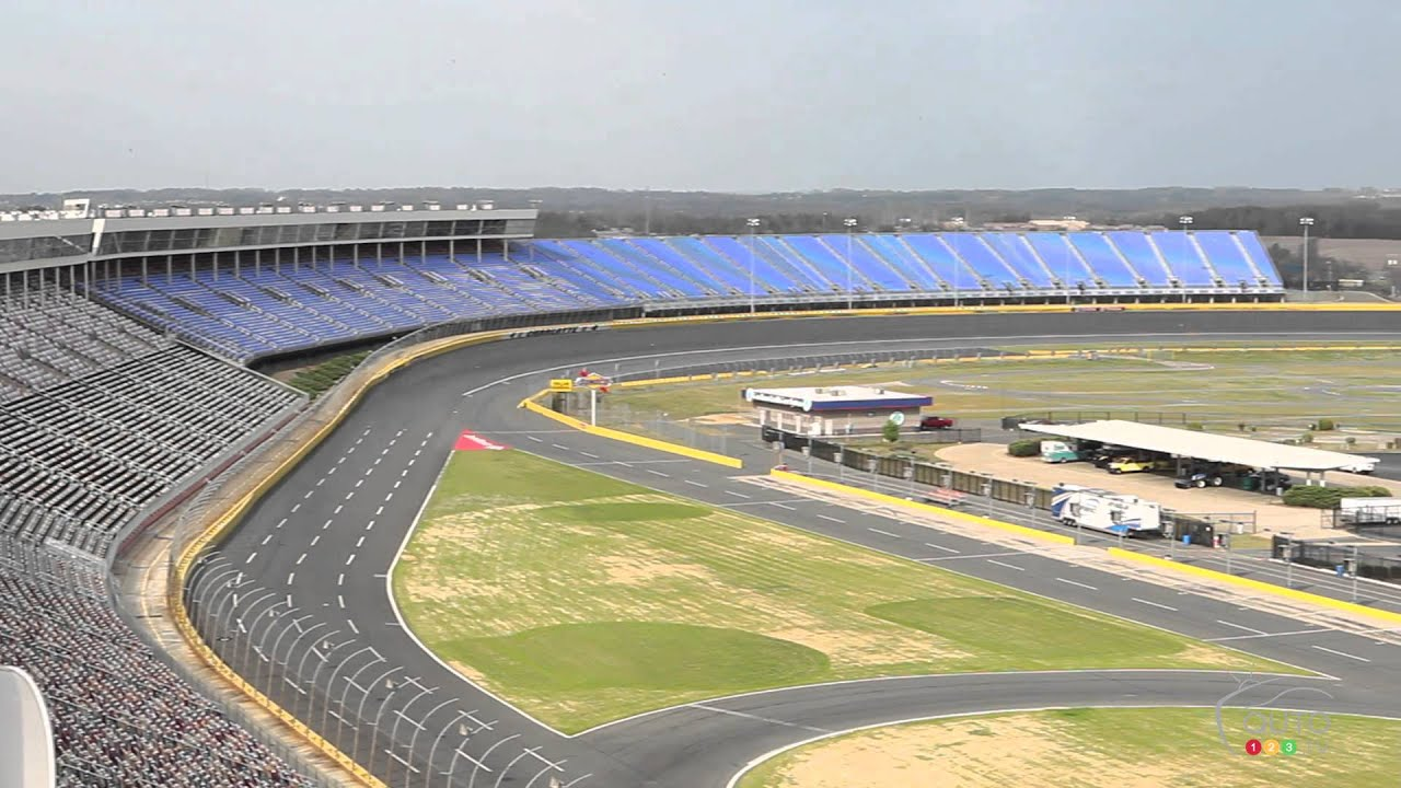 A Guided Tour Of The Charlotte Motor Speedway Youtube