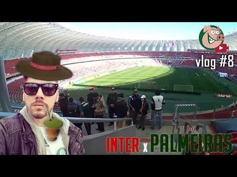 PALMEIRAS 1 X 0 INTERNACIONAL - #VLOG09 - TV Alviverde - BRASILEIRÃO 2016