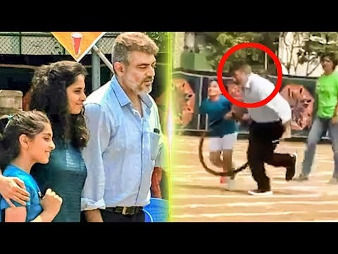 FUN: Ajith plays for his daughter!