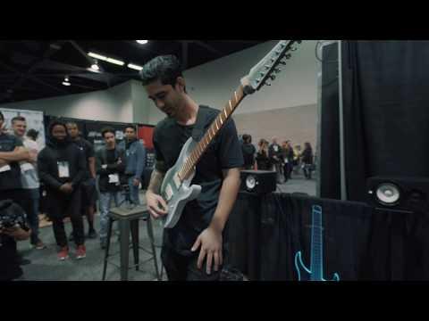 "Legator Guitars NAMM 2020: Devin Castro Performing ""Bad Guy"""