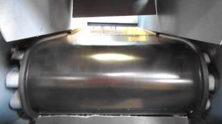 Rebuilt Belt Feeder For Gravity Bagging Scale Test Run