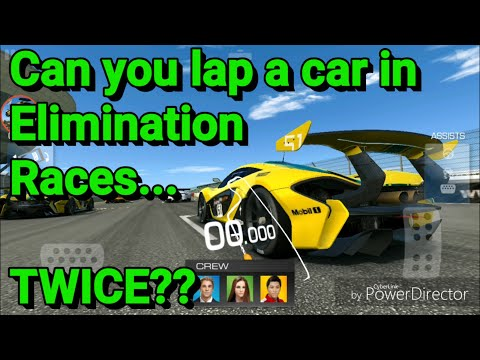 Lapping Cars In Elimination Races