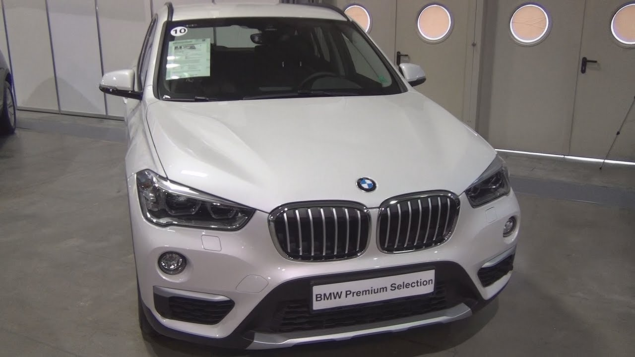 BMW X1 xDrive 20d Mineral White (2016) Exterior and Interior - YouTube