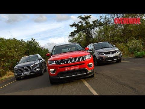 Jeep Compass vs Tata Hexa vs Hyundai Tucson vs Mahindra XUV 500 - Comparative Review
