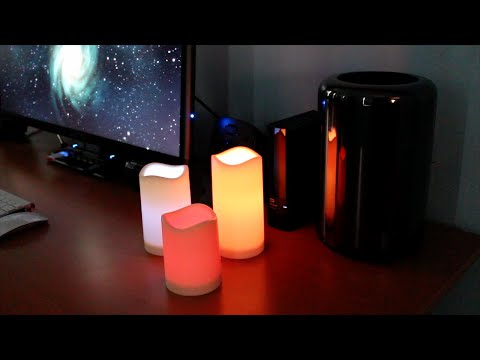 Frostfire Mooncandles - LED Candles with Remote