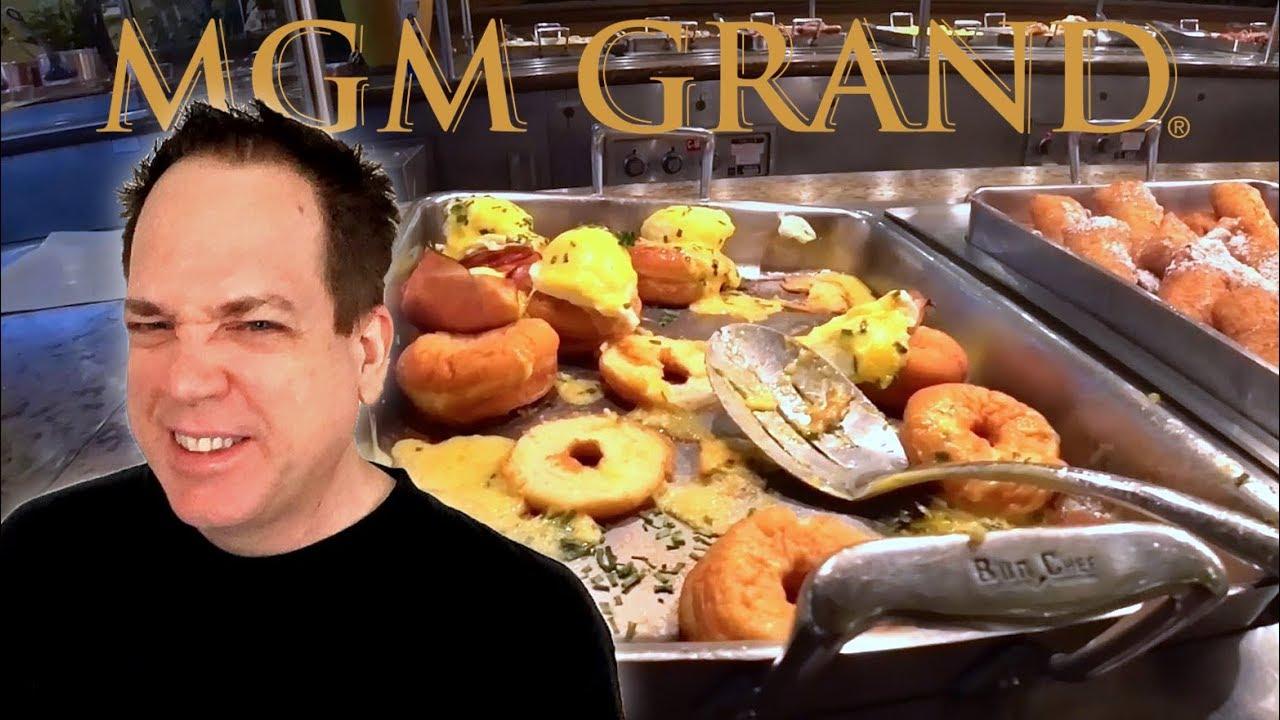 MGM Grand Buffet Las Vegas - Falling Apart! - YouTube