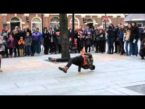 Boston Faneuil Hall Street Performers