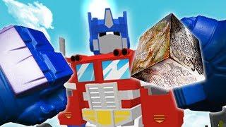 REALISTIC TRANSFORMERS - Optimus Prime finds the ALLSPARK! (Realistic Roblox)
