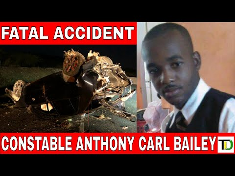 Horrific CAR CRASH claims life of POLICEMAN in CLARENDON - Teach Dem