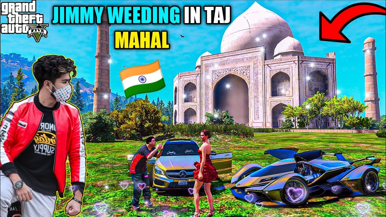 GTA 5 : JIMMY KI MARRIAGE HOGI TAJ MAHAL KE ANDAR OMG 🔥❤️