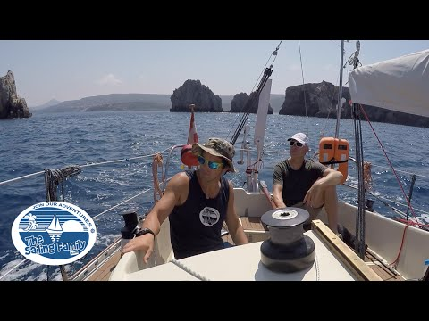 The Ionian Sea Crossing - Sailing from Greece to Italy  (The Sailing Family) Ep.3