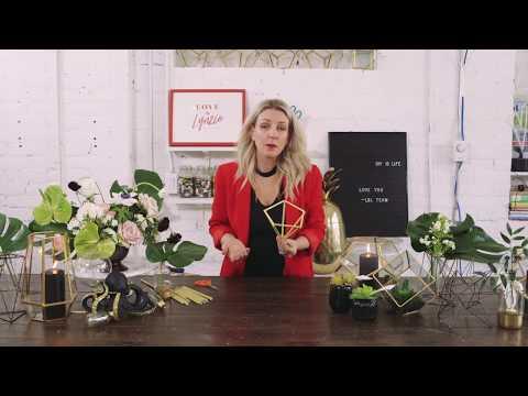 DIY Geometric Shapes with Lynzie Kent