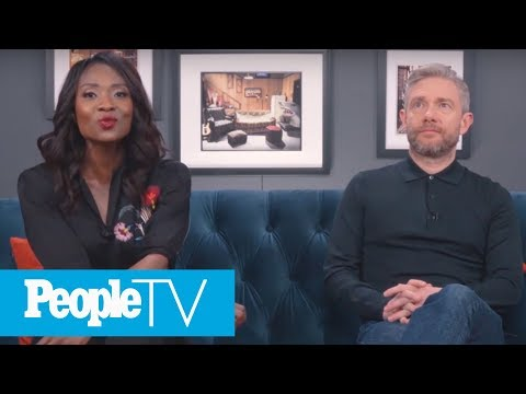 The British 'Office' Star Martin Freeman On Cracking Up On Set | PeopleTV