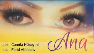Ferid Abbasov Anaya aid tesirli weir Ana seiri (şeir) en yeni seirler