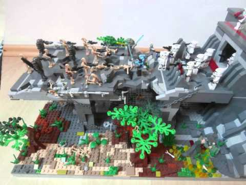 lego star wars clone base - youtube