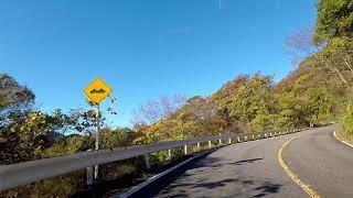 妙義山紅葉ドライブ(上毛三山パノラマ街道)2017年11月