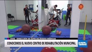 Recorrimos el nuevo Centro de Rehabilitación Municipal