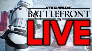 Video HOPE CANNOT SAVE THEM! Star Wars Battlefront Live Stream #100 download MP3, 3GP, MP4, WEBM, AVI, FLV November 2017