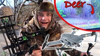 DEER HUNTING with a DRONE!