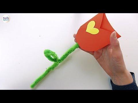 Idee Cadeau Fete Grand Mere.Idee Cadeau Pour La Fete Des Grands Meres Une Tulipe A Message
