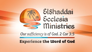 ElShaddai Ecclesia Ministries | Channel Introduction