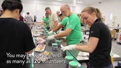 What to Expect When You Volunteer at the Food Bank's Warehouse