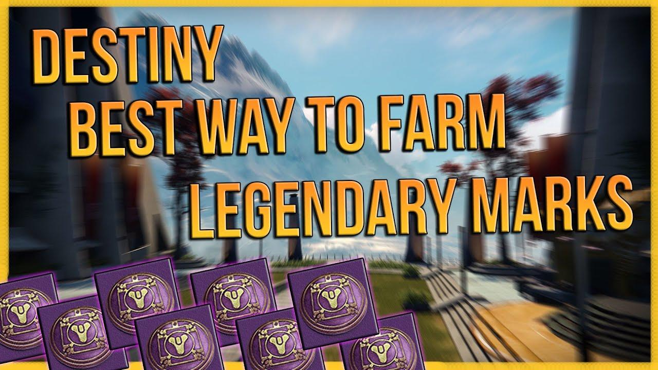 Destiny: BEST Way To Get Legendary Marks!