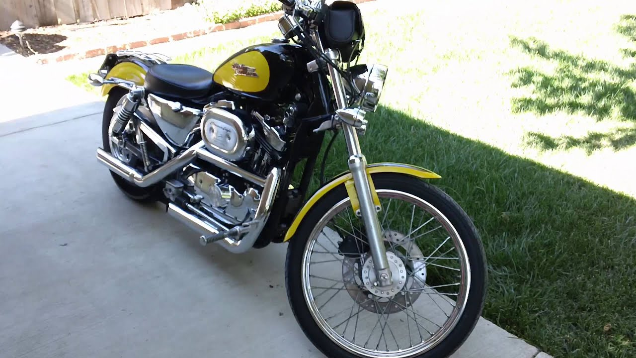 2001 Harley Davidson Sportster 1200 Custom Youtube