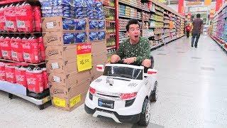 Voy al Supermercado en un Carro de Juguete - Ami Rodriguez