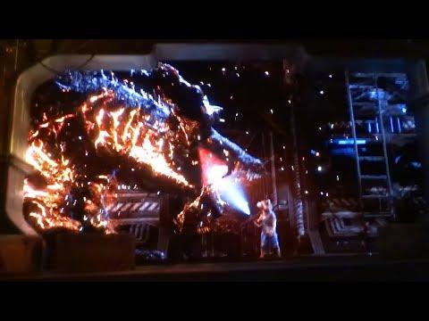 Guardians of the Galaxy: Monsters After Dark FULL RIDE Halloween opening night at Disneyland Resort