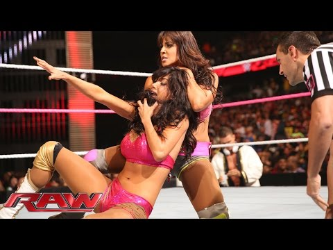 Rosa Mendes vs. Layla: Raw, Sept. 29, 2014